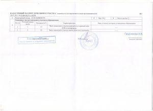 Изготовление кадастрового паспорта на земельный участок — сроки и стоимость