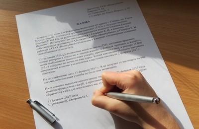 Как написать коллективную жалобу на руководителя? Образец претензии, порядок подачи и сроки рассмотрения
