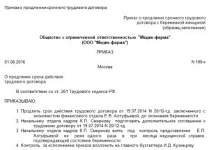 Доп. соглашение к срочному трудовому договору о продлении срока — образец и правила заключения