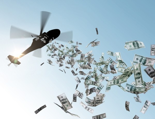 Что такое вертолетные деньги и зачем их раздают гражданам