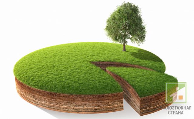 Как разделить земельный участок на два участка?