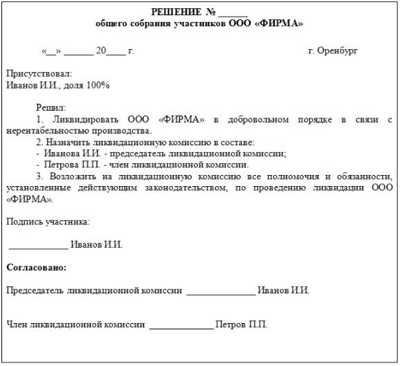 Увольнение директора при ликвидации ООО: порядок действий и компенсационные выплаты