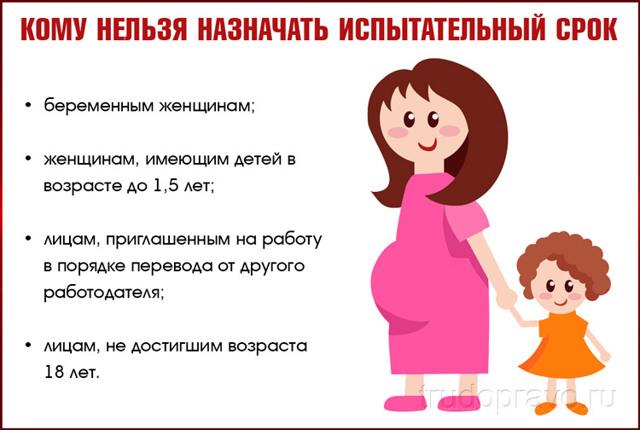 Могут ли уволить беременную на испытательном сроке?