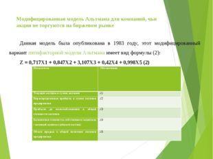 Оценка вероятности банкротства по модели Лиса: особенности, формула, преимущества, интерпретация
