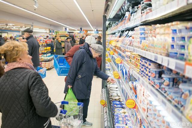 Ставки налога НДС для категории товаров - продукты питания