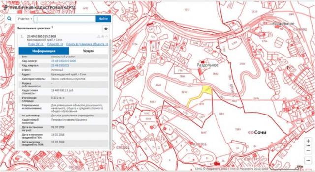 Как правильно заказать кадастровый план территории через интернет?