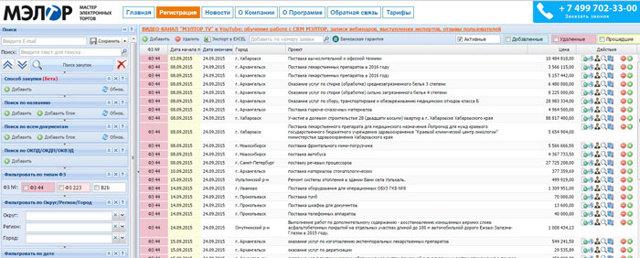 Системы и программы поиска тендеров и аукционов: платные и бесплатные сервисы, краткий обзор